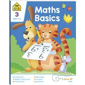 School Zone I Know It  Maths Basics Activity Book 3 2020