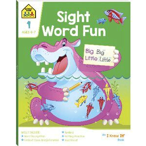 School Zone Sight Word Fun Workbook 2020