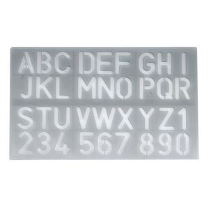 Celco 30 mm Lettering Stencil