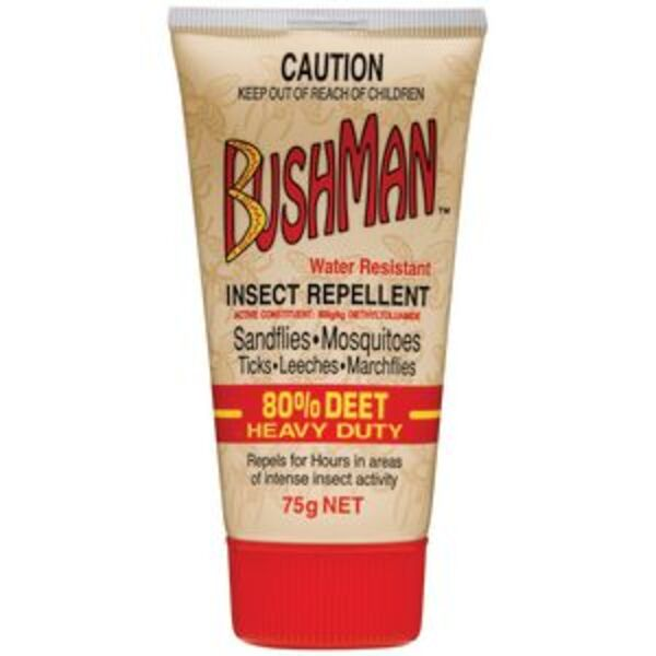 Bushmans Heavy Duty Insect Repellent 75g