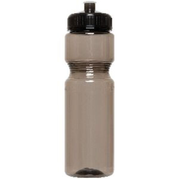 Keji PET Drink Bottle Black 800mL