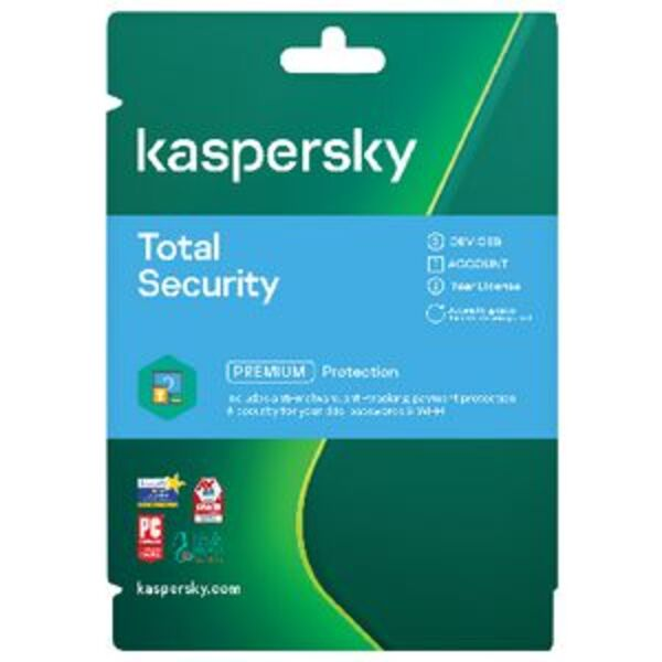 Kaspersky Total Security 3 Devices 2 Year Download