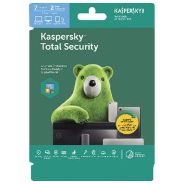 Kaspersky Total Security 7 Device 2 Year Download