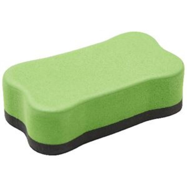 Keji Magnetic Whiteboard Eraser Small Green