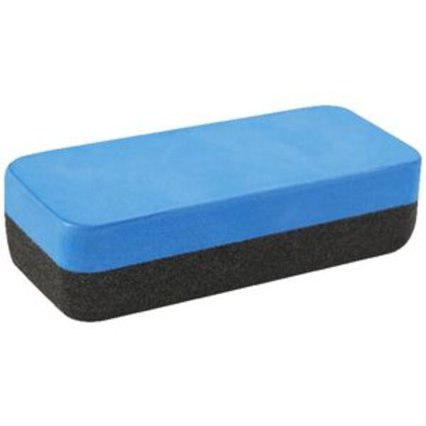 Keji Magnetic Whiteboard Eraser Large Blue