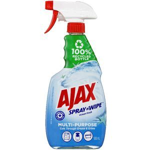Ajax Spray n Wipe Ocean Fresh 500ml
