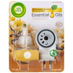 Air Wick Essential Oil Plug In Vanilla and Soft Cashmere 21mL