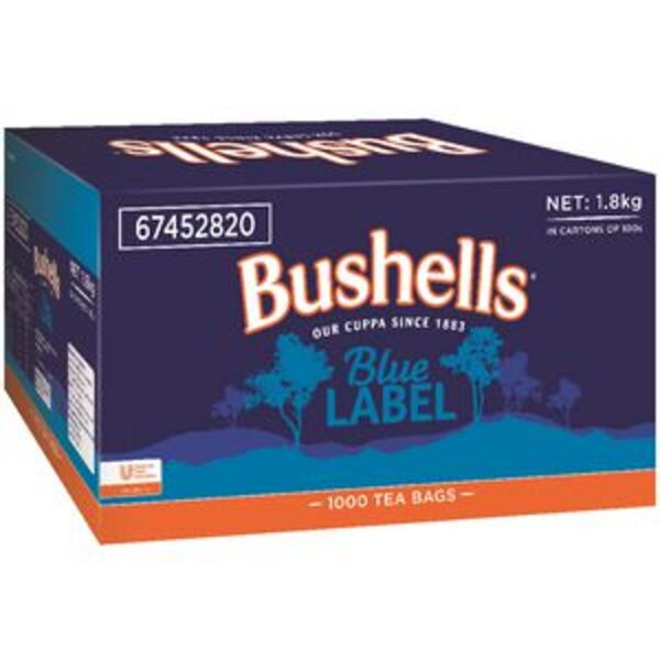 Bushells Blue Label Tea Bags 1000 Pack