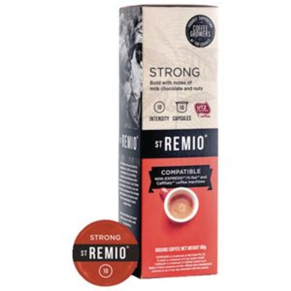 St Remio Strong Caffitaly Capsules 80 g 10 Pack