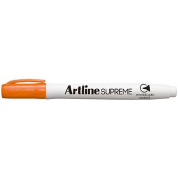 Artline Supreme Whiteboard Marker Bullet Orange