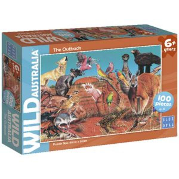 Blue Opal Wild Australia The Outback Puzzle 100 Piece