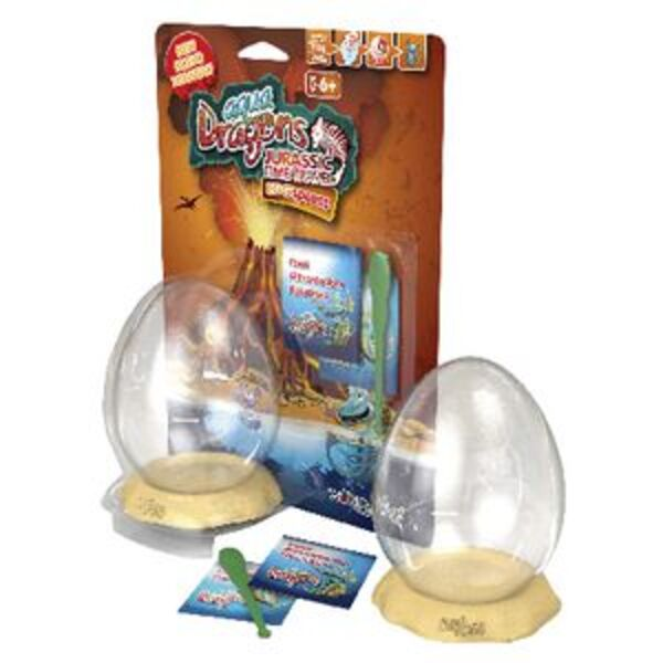 Aqua Dragons EGGspress Jurassic Design