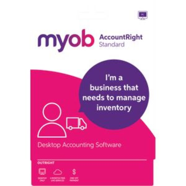 MYOB AccountRight Standard 1 PC Download