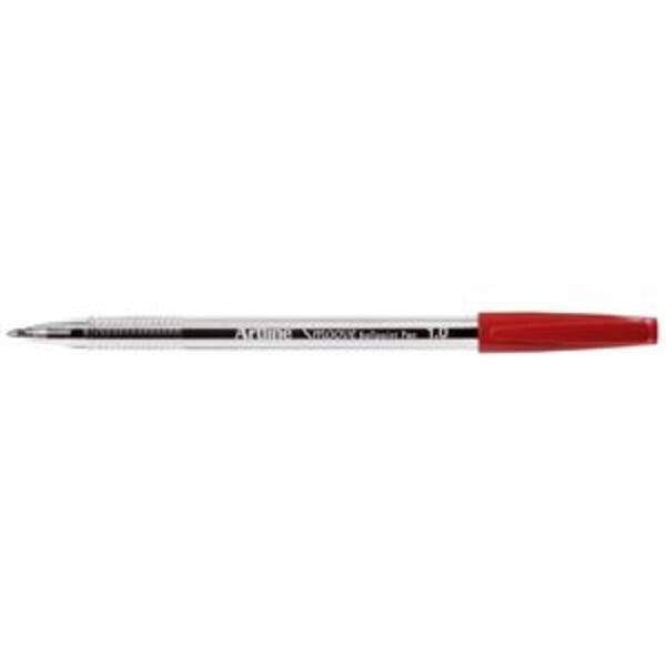 Artline Smoove Ballpoint Pen Red