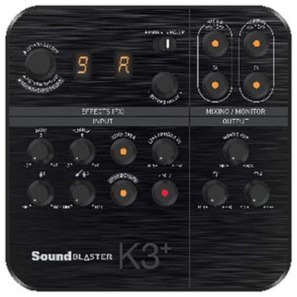 Creative SoundBlaster K3+ Mixer