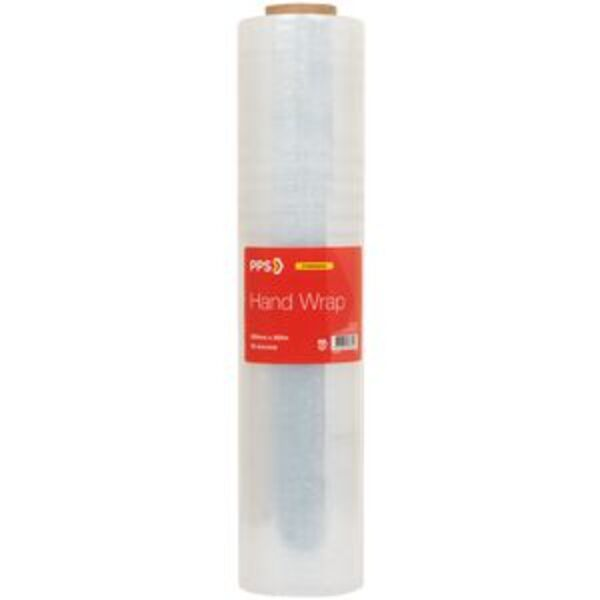 PPS Cast Hand Wrap 500mm x 300m x 23um Clear