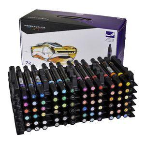 Prismacolor Art Markers Chisel Fine 72 Pack