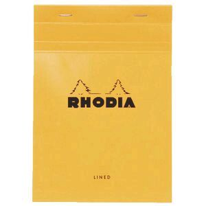 Rhodia No.16 A5 Lined Pad Orange
