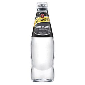 Schweppes Soda Water 300mL 24 Pack