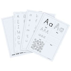Little Learner Make Pupil Pocket Activity Sheets Literacy