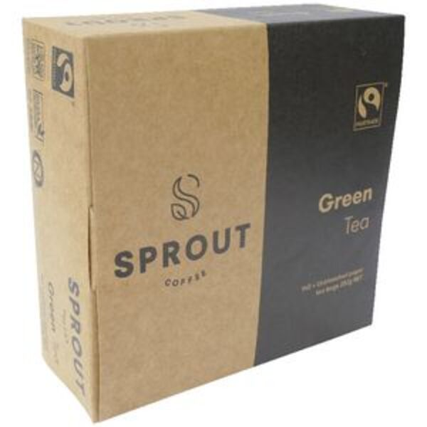 Sprout Fairtrade Organic Green Tea Bags 140 Pack
