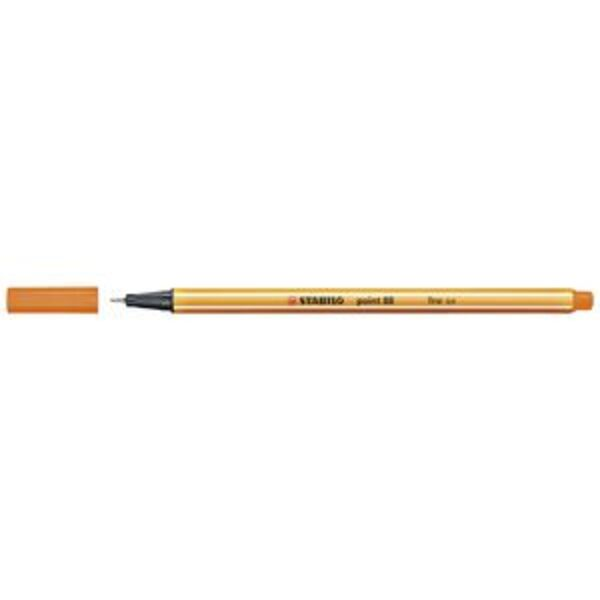 Stabilo Point 88 0.4mm Fineliner Orange