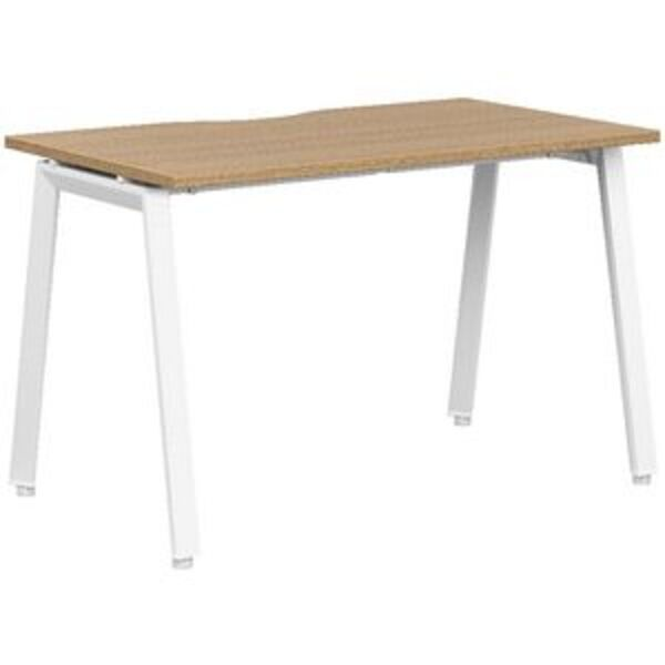 Stilford S2 Pro Version 2 Desk 1200 x 700mm Oak/White