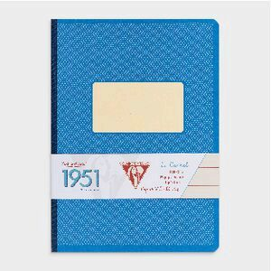 Clairefontaine 1951 Clothbound A5 Notebook 96 Page Blue