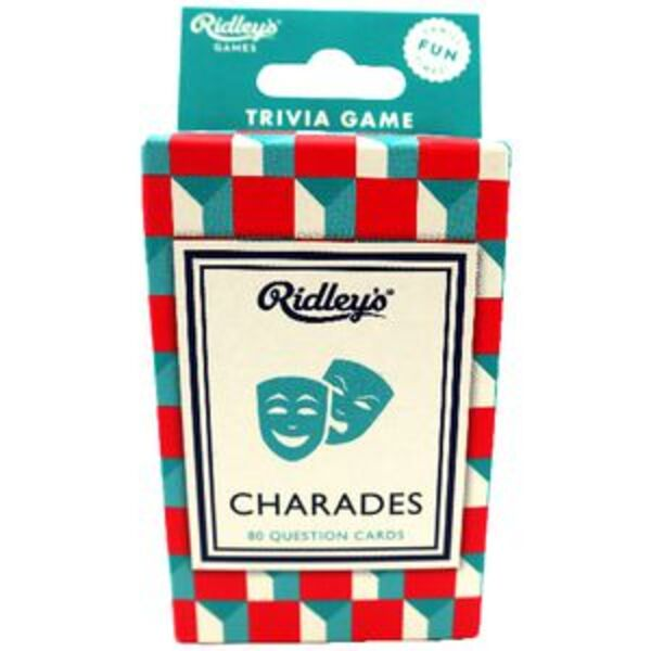 Ridleys Card Game Charades
