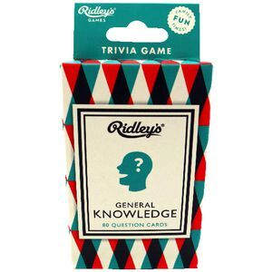 Ridleys Card Game Knowledge