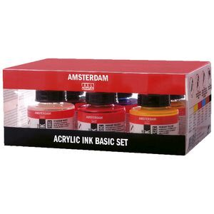 Amsterdam Ink Set 30mL 6 Pack