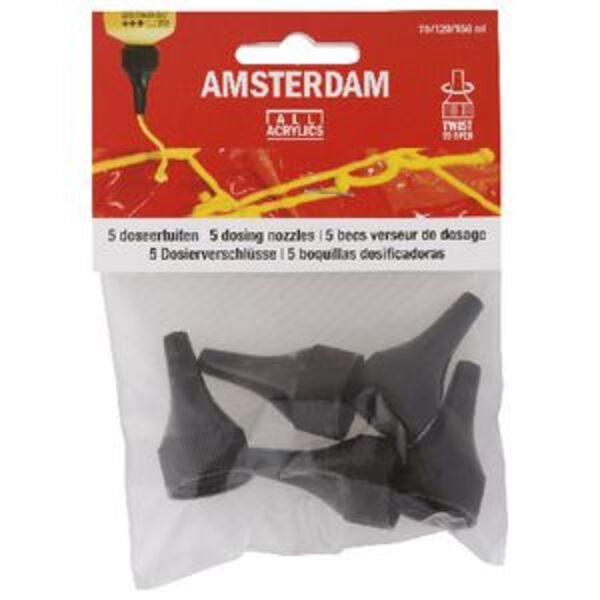 Amsterdam 120mL Dosing Nozzles 5 Pack