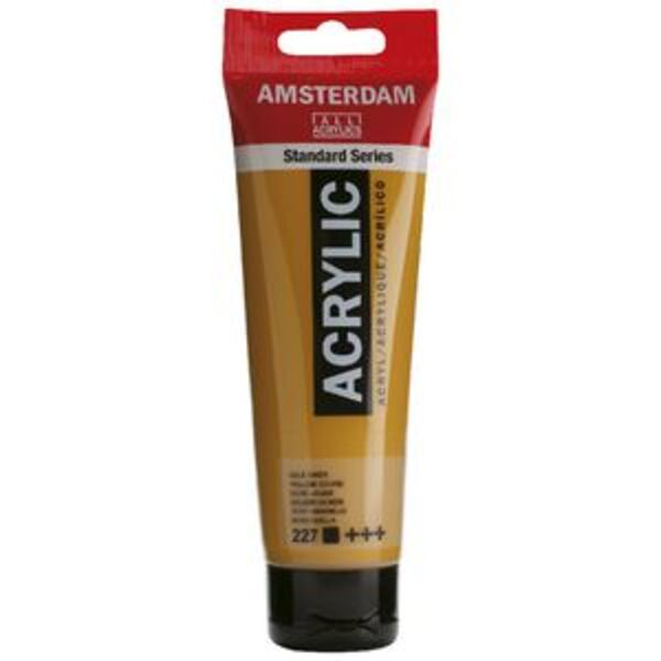 Amsterdam Acrylic Paint 120mL Yellow Ochre 227