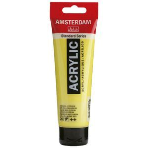 Amsterdam Acrylic Paint 120mL Yellow Lemon 267