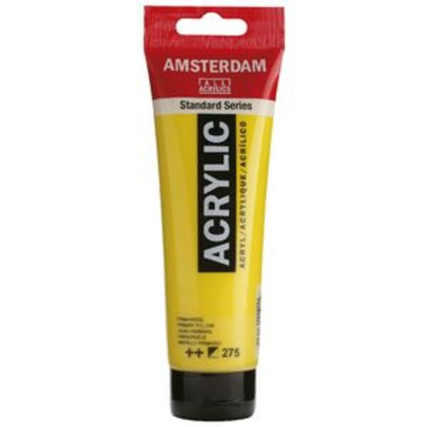 Amsterdam Acrylic Paint 120mL Primary Yellow 275