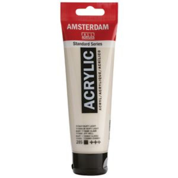 Amsterdam Acrylic Paint 120mL Titanium Buff Light 289