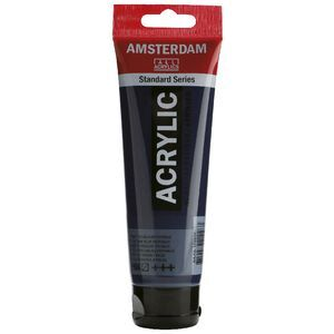 Amsterdam Acrylic Paint 120mL Prussian Blue Phthalo 566
