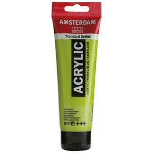 Amsterdam Acrylic Paint 120mL Yellowish Green 617