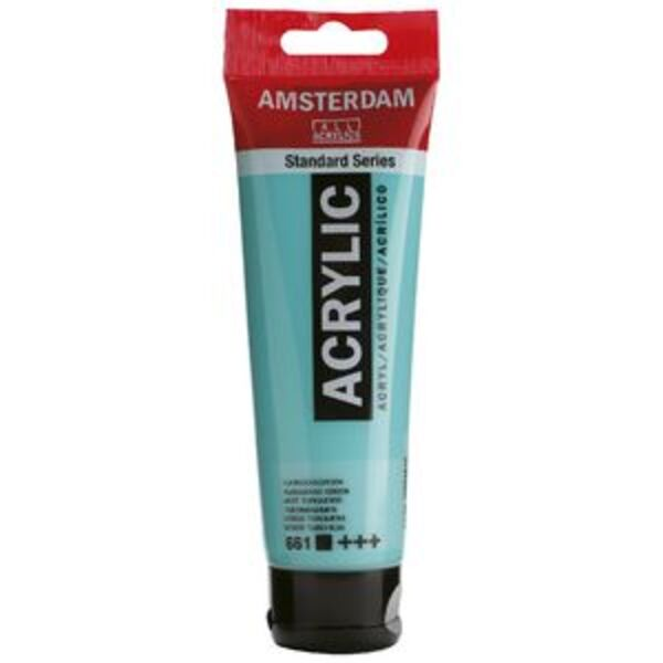 Amsterdam Acrylic Paint 120mL Turquoise Green 661