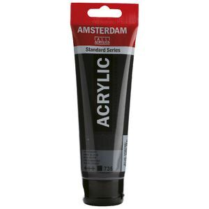 Amsterdam Acrylic Paint 120mL Oxide Black 135