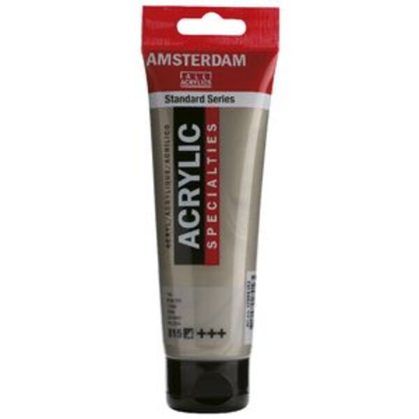 Amsterdam Acrylic Paint 120mL Pewter 815