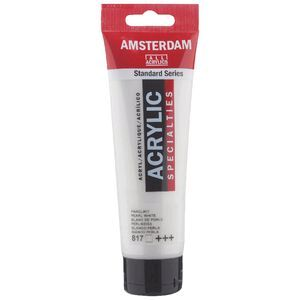Amsterdam Acrylic Paint 120mL Pearl White 817