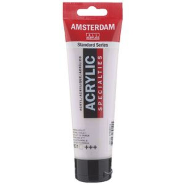 Amsterdam Acrylic Paint 120mL Pearl Violet 821