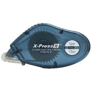 X-Press It Double Sided Tape Runner 8mm x 12m