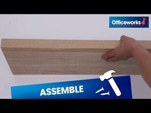 100% authentic eddb9 83681 Horsen Floating Shelf 800mm Oak