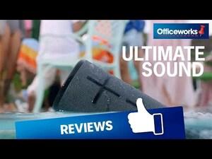 Ultimate Ears Megaboom 3 Portable Bluetooth Speaker Sunset | Officeworks