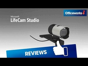 Microsoft Lifecam Studio Widescreen Webcam