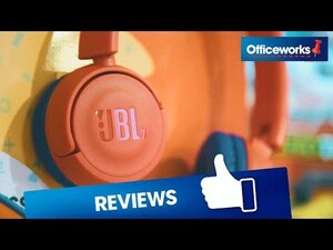 c0ba1150a2c JBL Kids Wireless Headphones Blue/Orange JR300BT | Officeworks