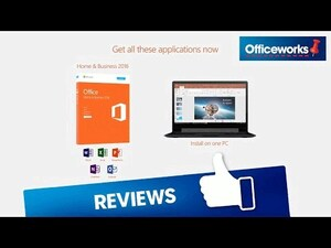 officeworks ms office