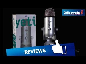 Blue Yeti 3-Capsule USB Microphone White | Officeworks